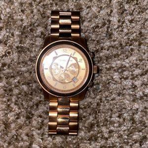 Men's Rose Gold Michael Kors Watch